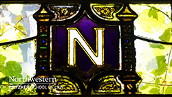 stained glass within of law school 'N'