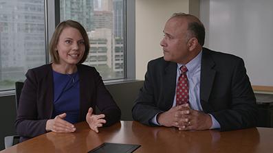 Professors Laura Nirider and Steven Drizin