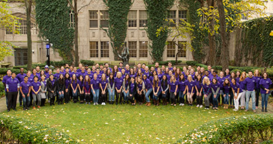 Student and Faculty Volunteers