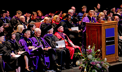 Convocation Ceremony Celebrates Class of 2014