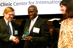 Center for International Human Rights Honors Global Jurist of the Year