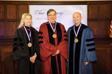 Law School Faculty Chair Ceremony