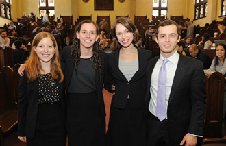 Miner Moot Court Competition Finalists