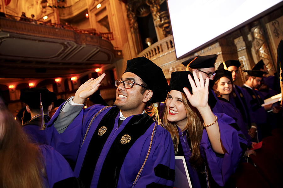 Convocation Honors Northwestern Law Class of 2017