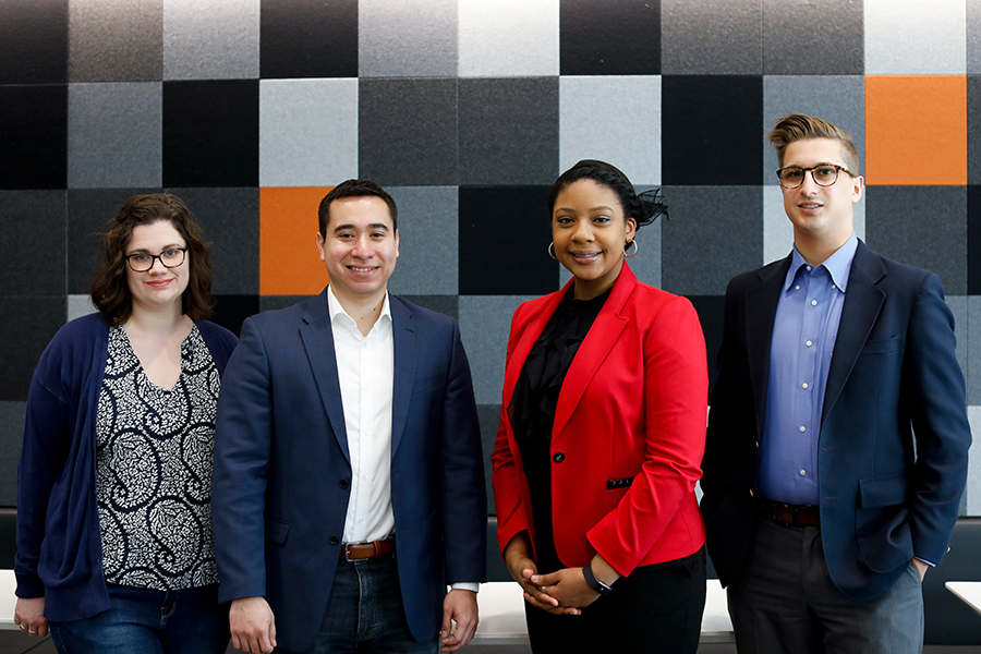 Four Post-Graduate Public Interest Fellows Named