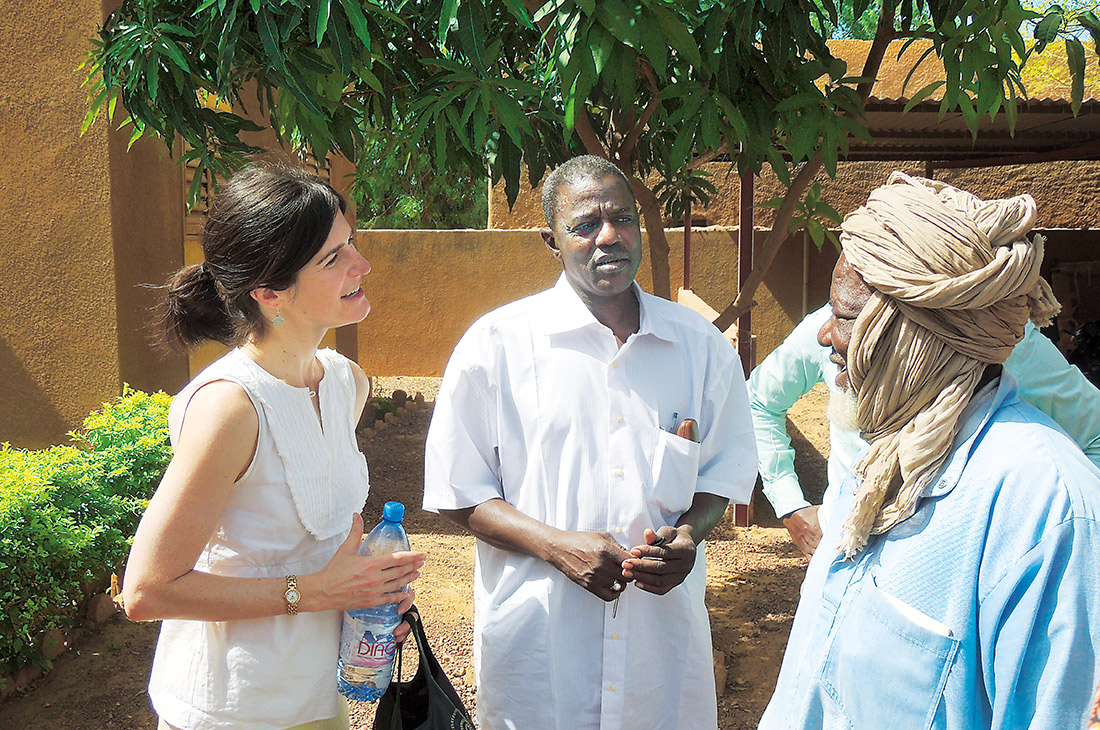 Juliet Sorensen in Mali