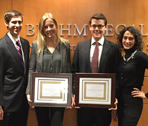 2015 Northwestern LawMeet student team
