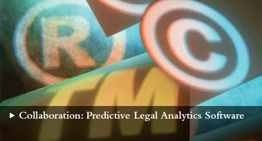 Collaboration: Predictive Legal Analytics Software