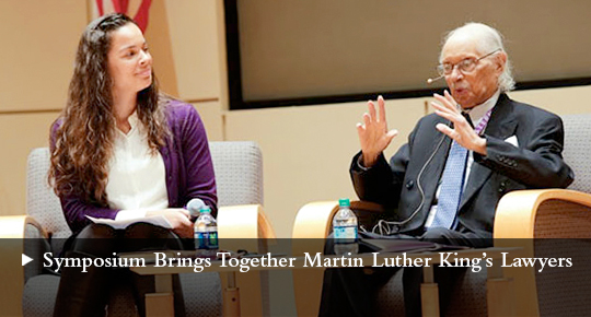 Symposium Brings Together Martin Luther King's Lawyers