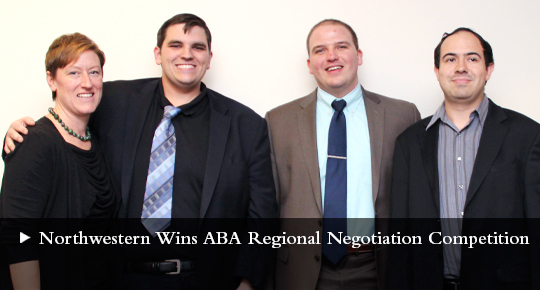 Northwestern Wins ABA Regional Competition