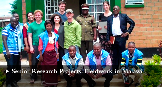 Senior Research Projects: Fieldwork in Malawi