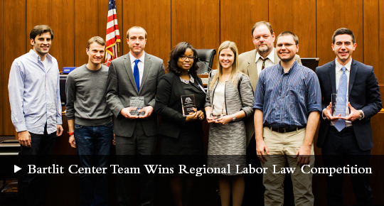 Bartlit Center Team Wins Regional Labor Law Competition