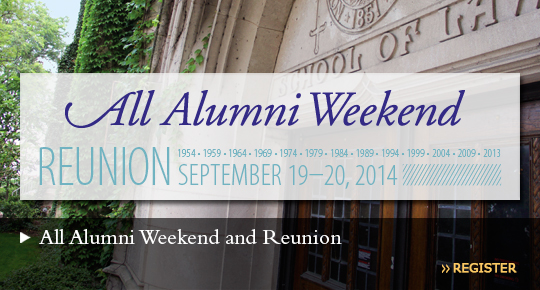 All Alumni Weekend and Reunion September 19-20