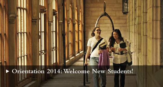 Orientation 2014: Welcome New Students