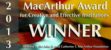 2013 MacArthur Award for Creative and Effective Institutions