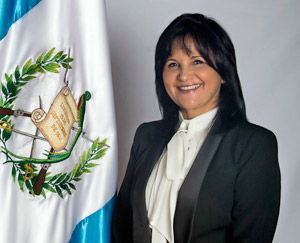 Gloria Patricia Porras Escobar, 2015 Global Jurist of the Year