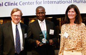 Dikgang Moseneke, Acting Chief Justice of South Africa, receives the 2013 Global Jurist Award