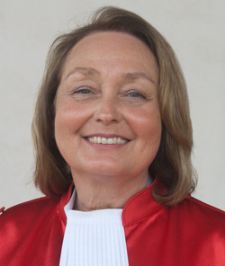 Justice Shireen Avis Fisher, 2014 Global Jurist of the Year