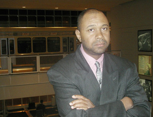 Aaron Patterson in November 2003. (Photo: Jennifer Linzer)
