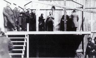 Hanging of Jack Marion (Photo: Gage County Historical Society)