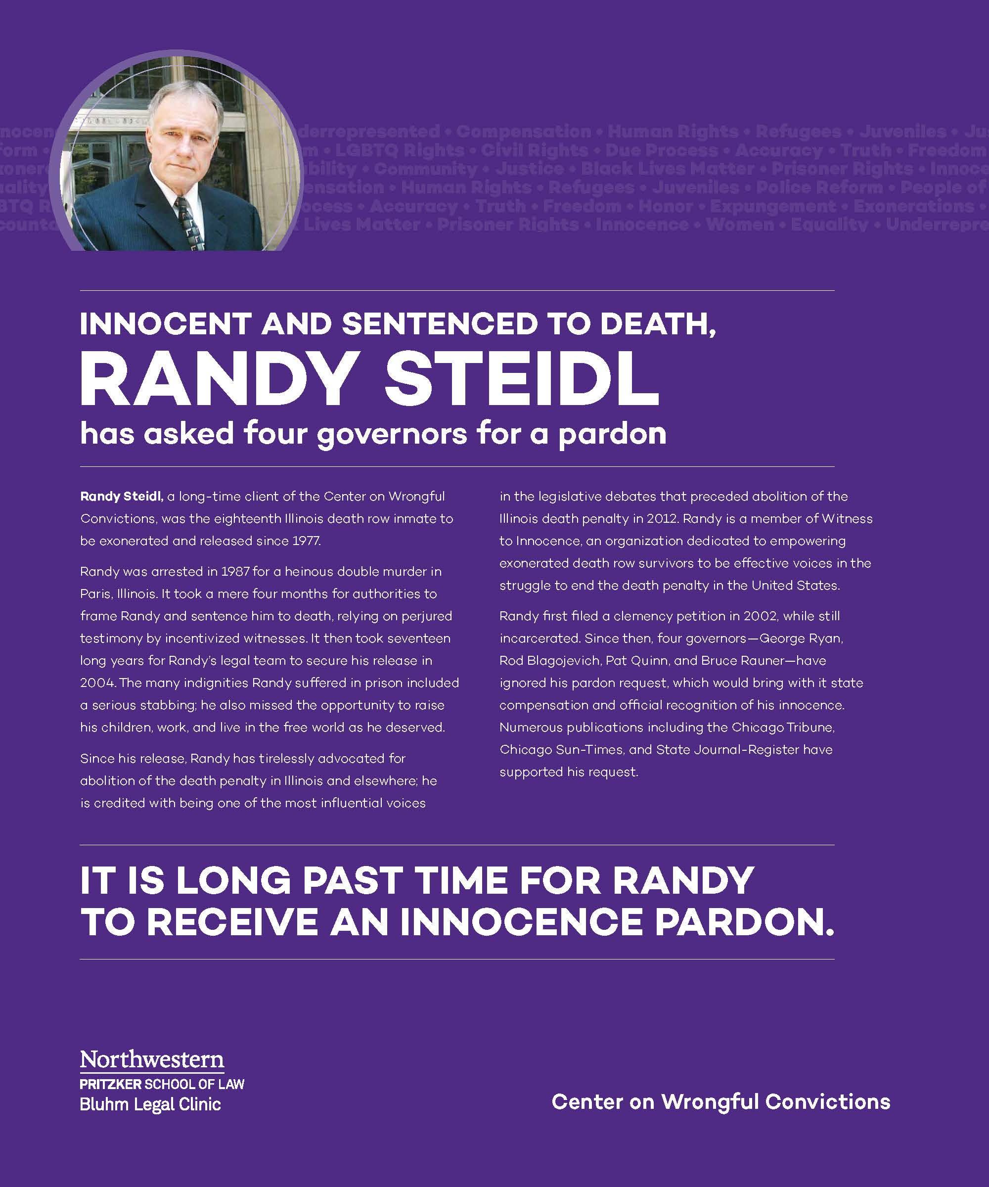 Pardon Randy Steidl