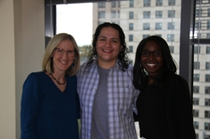 Kerry Masterson with CWC Attorneys Karen Daniel and Andrea Lewis