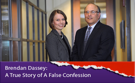 Laura Nirider and Steve Drizin at Brendan Dassey: A True Story of A False Confession'